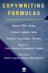 27 copywriting-formularer